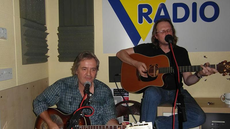 Stuart Earl, Lyndon Webb at Radio Wey