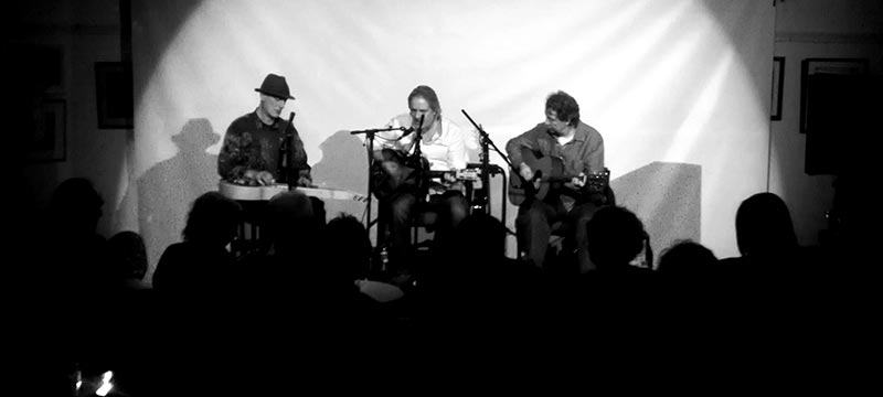 Stuart Earl, Michael Messer, Ed Genis, Pocklington Arts Centre