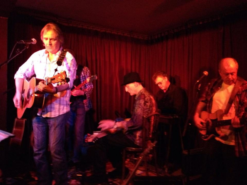 Stuart Earl, Lyndon Webb, Michael Messer, BJ Cole, Mike Edwards at The Green Note, Camden